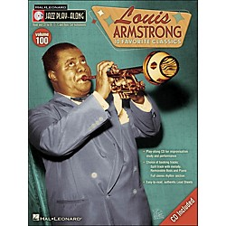 Hal Leonard Louis Armstrong Jazz Play- Along Volume 100 Book/CD (740423)
