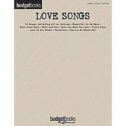 Hal Leonard Love Songs Budget Piano, Vocal, Guitar Songbook (310834)