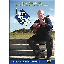 Hal Leonard Lyle's Style: Ukulele Master Lyle Ritz Shares A Lifetime Of Performance Technique (DVD) (320870)