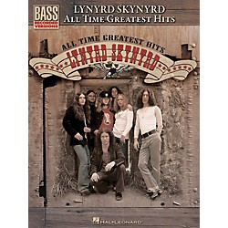 Hal Leonard Lynyrd Skynyrd - All Time Greatest Hits Bass Guitar Tab Songbook (690956)
