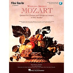 Hal Leonard MOZART Quintet in A major, KV581 (400314)