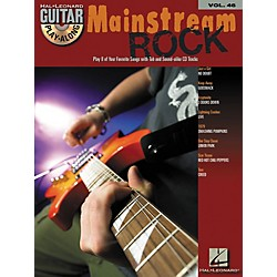 Hal Leonard Mainstream Rock Guitar Play-Along Volume 46 Book with CD (699722)