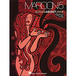 Hal Leonard Maroon5 Songs About Jane arranged for piano, vocal, and guitar (P/V/G) (306642)