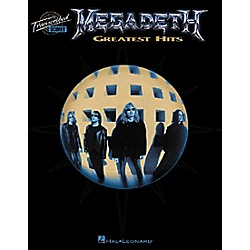 Hal Leonard Megadeth Greatest Hits Book (672478)