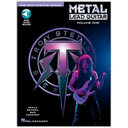 Hal Leonard Metal Lead Guitar Volume 1 (Book/CD) (699321)
