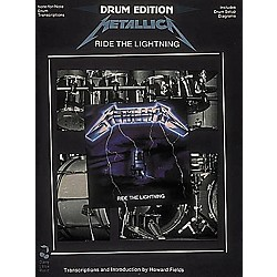 Hal Leonard Metallica - Ride The Lightning Drum Book (2503507)