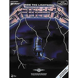 Hal Leonard Metallica: Ride The Lightning Guitar Tab Songbook (2507019)