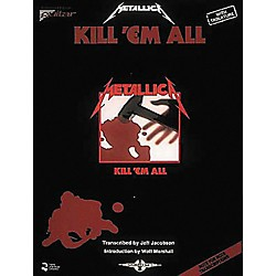 Hal Leonard Metallica Kill 'em All Guitar Tab Songbook (2507018)
