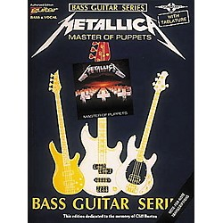 Hal Leonard Metallica Master of Puppets Bass Guitar Tab Songbook (02506961)