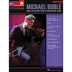 Hal Leonard Michael Buble - Pro Vocal Series Volume 27 Book/CD (740362)