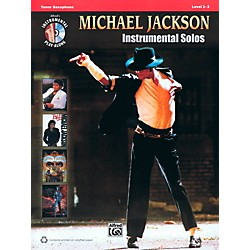 Hal Leonard Michael Jackson - Instrumental Solos Play-Along for Tenor Sax Book/CD (119498)