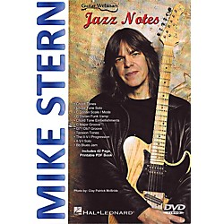 Hal Leonard Mike Stern - Jazz Notes DVD (110242)