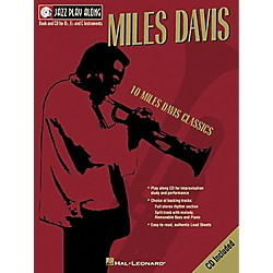 Hal Leonard Miles Davis - Jazz Play Along (Book/CD) (841645)