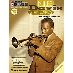 Hal Leonard Miles Davis Standards - Jazz Play Along Volume 49 Book with CD (843045)