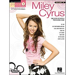 Hal Leonard Miley Cyrus - Pro Vocal Series For Female Singers Volume 38 Book/CD (740394)
