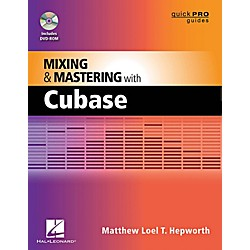 Hal Leonard Mixing And Mastering With Cubase - Quick Pro Guides Series Book/DVD-ROM (333396)