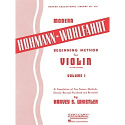 Hal Leonard Modern Hohmann-Wohlfahrt Beginning Method for Violin, Volume 1 (4472510)
