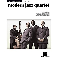 Hal Leonard Modern Jazz Quartet - Jazz Piano Solos Series Volume 18 (307270)