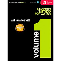 Hal Leonard Modern Method for Guitar Volume 1 (Book/CD) (50449404)