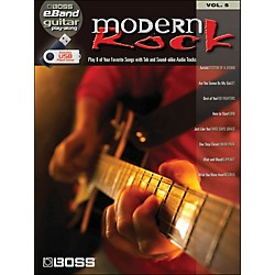 Hal Leonard Modern Rock Guitar Play-Along Volume 5 (Boss eBand Custom Book With USB Stick) (701644)