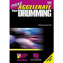 Hal Leonard More Accelerate Your Drumming DVD (320584)