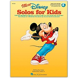 Hal Leonard More Disney Solos For Kids Book/CD (740294)