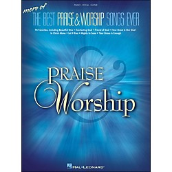 Hal Leonard More Of The Best Praise & Worship Songs Ever arranged for piano, vocal, and guitar (P/V/G) (311800)