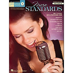 Hal Leonard More Standards - Pro Vocal Songbook & CD For Female Singers Volume 46 (740420)