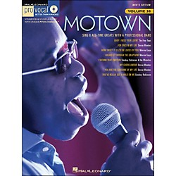 Hal Leonard Motown - Pro Vocal Songbook Volume 38 Men's Edition Book/CD (740385)