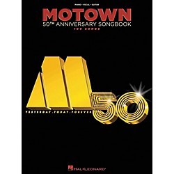 Hal Leonard Motown 50th Anniversary Songbook arranged for piano, vocal, and guitar (P/V/G) (311833)
