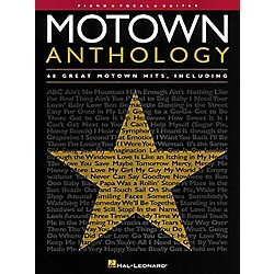 Hal Leonard Motown Anthology Piano, Vocal, Guitar Songbook (310367)