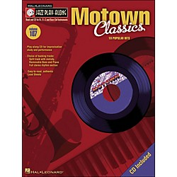 Hal Leonard Motown Classics - Jazz Play-Along Volume 107 (CD/Pkg) (843116)