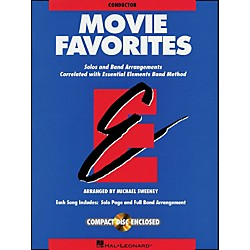 Hal Leonard Movie Favorites Conductor Book/CD (860008)