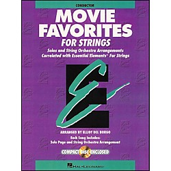 Hal Leonard Movie Favorites Conductor Essential Elements Strings CD/Pkg (868019)