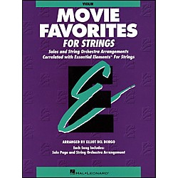 Hal Leonard Movie Favorites Violin Essential Elements (868020)