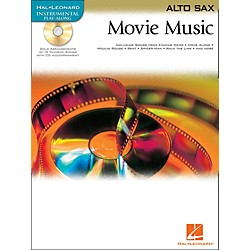 Hal Leonard Movie Music For Alto Sax Book/CD (842091)