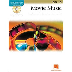 Hal Leonard Movie Music For Cello Book/CD (842098)