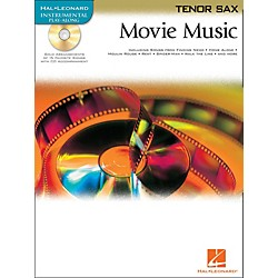 Hal Leonard Movie Music For Tenor Sax Book/CD (842092)