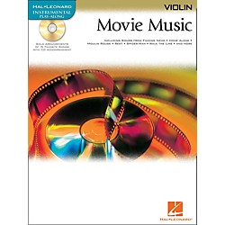 Hal Leonard Movie Music For Violin Book/CD (842096)