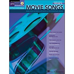 Hal Leonard Movie Songs Pro Vocal Series Women's Edition Volume 26 Book/CD (740365)