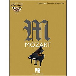 Hal Leonard Mozart: Piano Concerto In D Minor K 466 - Classical Play-Along (Book/CD) Vol. 21 (842453)