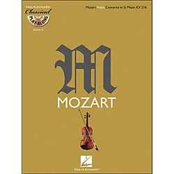 Hal Leonard Mozart: Violin Concerto In G Major, Kv 216 Classical Play-Along Book/CD Vol. 15 (842355)