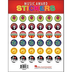 Hal Leonard Music Award Stickers Package (296815)