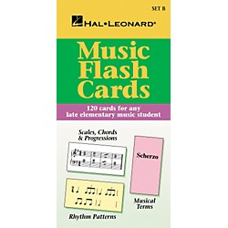 Hal Leonard Music Flash Cards Set B Hal Leonard Student Piano Library (296035)