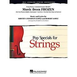 Hal Leonard Music From Frozen for String Orchestra Level 3 - 4 (4491412)
