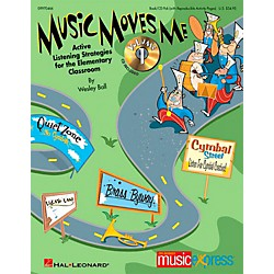 Hal Leonard Music Moves Me - Active Listening Strategies for the Classroom Book/CD (9970466)