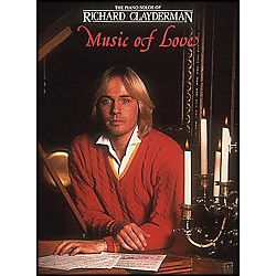 Hal Leonard Music Of Love Piano Solos - Richard Clayderman (202133)