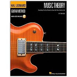 Hal Leonard Music Theory for Guitarists (Book and CD Package) (695790)