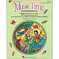 Hal Leonard Music Time:Intermediate - More Quick-Start Lessons for the Elementary Class Book/Enhanced CD (113006)