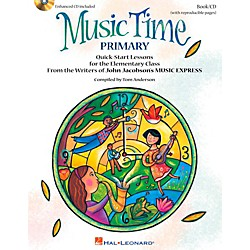 Hal Leonard Music Time:Primary - Quick Start Lessons for the Elementary Class Book/CD (9971705)